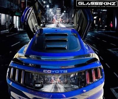 GLASSSKINZ S550 MUSTANG TEKNO 2 WWW.D2BDMOTORWERKS.COM