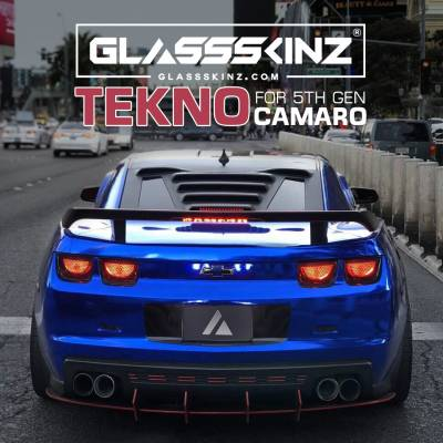 TEKNO 1 - Camaro 5th Gen 10-15 - GLASSSKINZ - GLASSSKINZ TEKNO 1  Camaro 5th Gen 10-15