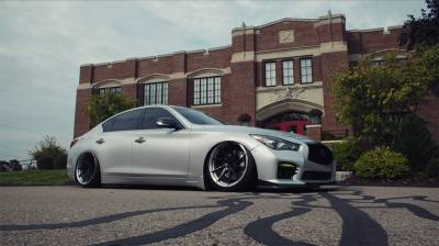 Air Ride Suspension - AIR LIFT PERFORMANCE BOLT ON KITS - AIRLIFT PERFORMANCE  - Airlift Infiniti Q50 RWD Performance Air Suspension Kit :  78565/78666 AP Manual/3S/3P/3H