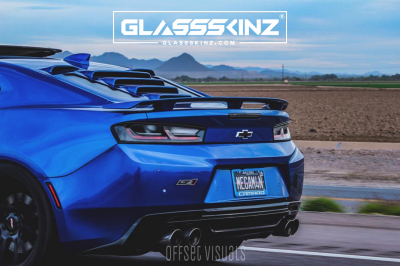TEKNO 1 - Camaro 6th Gen 16-18 - GLASSSKINZ - GLASSSKINZ TEKNO 1  Camaro 6th Gen 16-18