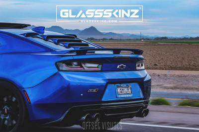 GLASSSKINZ - GLASSSKINZ TEKNO 1  Camaro 6th Gen 16-18