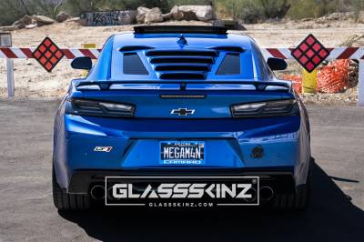 GLASSSKINZ TEKNO 1 CAMARO 6TH GEN 16-19
