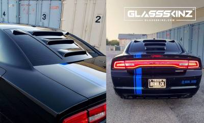 GLASSSKINZ TEKNO 2 DODGE CHARGER 11-18