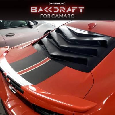 Camaro 6 Louver Bakkdraft www.d2bdmotorwerks.com