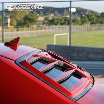 Challenger Louver: Glassskinz Hellion Challenger Louver www.d2bdmotorwerks.com