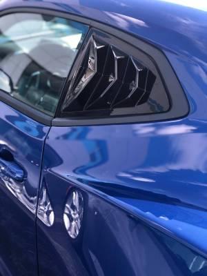 Glassskinz Camaro 6 Bakkdraft Quarter Louvers www.d2bdmotorwerks.com