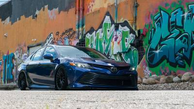 Toyota  - Camry XV70 19-20 SE/XSE/SENightshade/XLE/Hybrid SE/TRD - AIRLIFT PERFORMANCE  - Airlift Performance Toyota Camry 18-20 Performance Air Suspension : 78586 / 78686 AP Manual/3S/3P/3H
