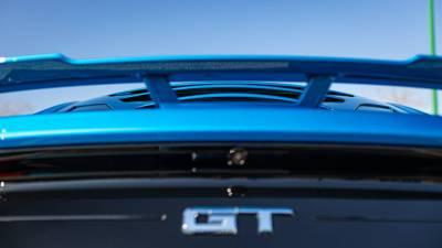 GLASSSKINZ TEKNO 3 S550 Mustang Louver WWW.D2BDMOTORWERKS.COM