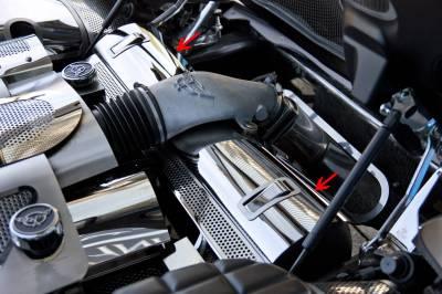 Modern Muscle Car Steel - Chevrolet C8 Corvette - American Car Craft - ACC Engine Dress Up Kit - 33058