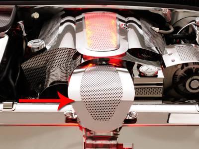Modern Muscle Car Steel - Chevrolet C5 Corvette - American Car Craft - ACC Engine Dress Up Kit - 33067