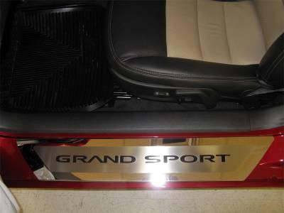 Truck/SUV Steel - Ford F-150 - American Car Craft - ACC Door Sill Plate - 041052-BLU