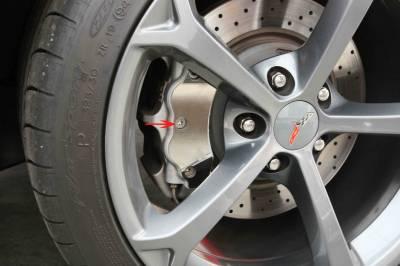 Modern Muscle Car Steel - Chevrolet C6 Corvette - American Car Craft - ACC DiscBrake CalipCover - 42090
