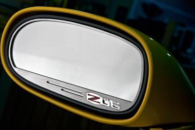 Modern Muscle Car Steel - Chevrolet C6 Corvette - American Car Craft - ACC Door Mirror TrimRing - 42112