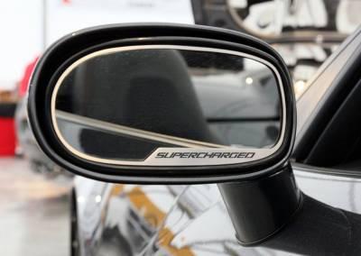 Modern Muscle Car Steel - Chevrolet C6 Corvette - American Car Craft - ACC Door Mirror TrimRing - 42121