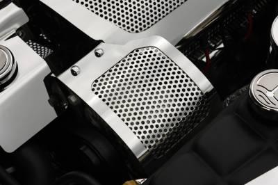 Modern Muscle Car Steel - Chevrolet C7 Corvette - American Car Craft - ACC Alternator Cover - 43054