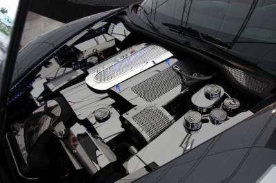 Modern Muscle Car Steel - Chevrolet C8 Corvette - American Car Craft - ACC Engine Dress Up Kit - 43055