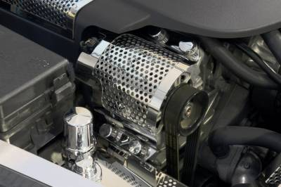 Modern Muscle Car Steel - Chevrolet C7 Corvette - American Car Craft - ACC Alternator Cover - 43068