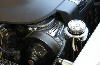 Modern Muscle Car Steel - Chevrolet C8 Corvette - American Car Craft - ACC Engine Dress Up Kit - 43069