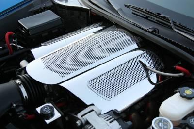 Modern Muscle Car Steel - Chevrolet C8 Corvette - American Car Craft - ACC Engine Dress Up Kit - 43090