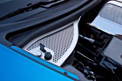 Modern Muscle Car Steel - Chevrolet C8 Corvette - American Car Craft - ACC Engine Dress Up Kit - 43094