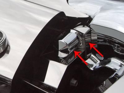 Modern Muscle Car Steel - Chevrolet C8 Corvette - American Car Craft - ACC Engine Dress Up Kit - 43109