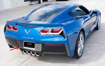 Modern Muscle Car Steel - Chevrolet C8 Corvette - American Car Craft - ACC Exterior Trim Kit - 52066