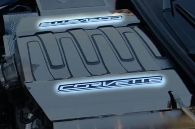 Modern Muscle Car Steel - Chevrolet C8 Corvette - American Car Craft - ACC Engine Dress Up Kit - 53045