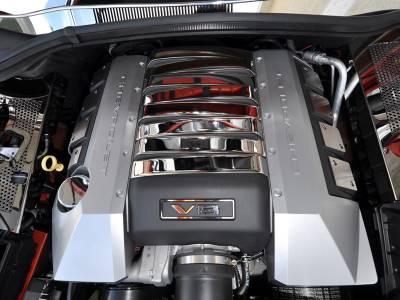 Modern Muscle Car Steel - Chevrolet C8 Corvette - American Car Craft - ACC Engine Dress Up Kit - 103004-B