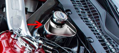 Modern Muscle Car Steel - Chevrolet C8 Corvette - American Car Craft - ACC Engine Dress Up Kit - 273082