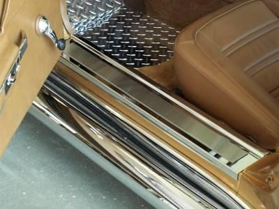 Modern Muscle Car Steel - Chevrolet C3 Corvette - American Car Craft - ACC Door Sill Strip - 011002