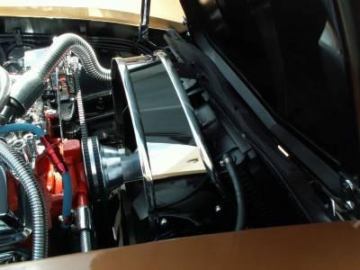 Modern Muscle Car Steel - Chevrolet C3 Corvette - American Car Craft - ACC Engine Fan Shroud - 013001