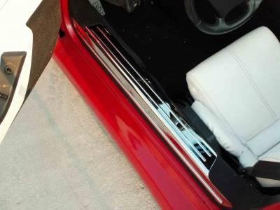 Modern Muscle Car Steel - Chevrolet C4 Corvette - American Car Craft - ACC Door Sill Plate - 021001