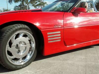 Modern Muscle Car Steel - Chevrolet C4 Corvette - American Car Craft - ACC Exterior Trim Kit - 022001