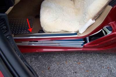 Modern Muscle Car Steel - Chevrolet C5 Corvette - American Car Craft - ACC Door Sill Plate - 031014