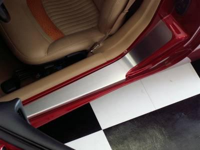 Modern Muscle Car Steel - Chevrolet C5 Corvette - American Car Craft - ACC Door Sill Plate - 031018
