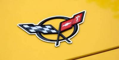 Modern Muscle Car Steel - Chevrolet C5 Corvette - American Car Craft - ACC Emblem Trim - 031025