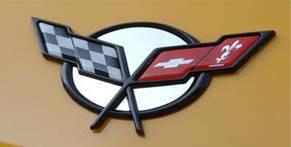 Modern Muscle Car Steel - Chevrolet C5 Corvette - American Car Craft - ACC Emblem Trim - 031026