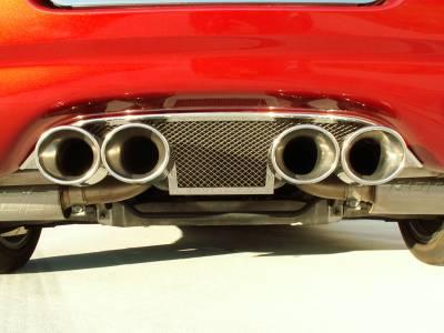 Modern Muscle Car Steel - Chevrolet C5 Corvette - American Car Craft - ACC Exhaust Filler Plate - 032006