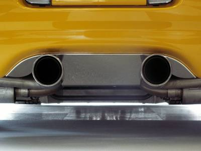 Modern Muscle Car Steel - Chevrolet C5 Corvette - American Car Craft - ACC Exhaust Filler Plate - 032007