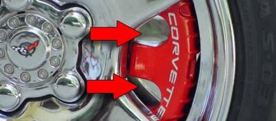 Modern Muscle Car Steel - Chevrolet C5 Corvette - American Car Craft - ACC Disc Brake Pad Set - 032012
