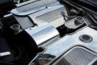 Modern Muscle Car Steel - Chevrolet Corvette - American Car Craft - ACC Alternator Cover - 033041