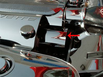 Modern Muscle Car Steel - Chevrolet Corvette - American Car Craft - ACC Belt Tensioner Cap - 033044