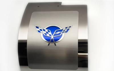 American Car Craft - ACC Alternator Cover - 033084-BLU