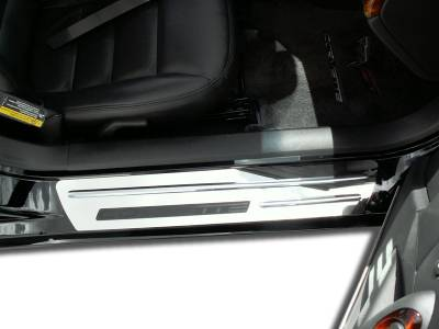 Modern Muscle Car Steel - Chevrolet C6 Corvette - American Car Craft - ACC Door Sill Plate - 041012