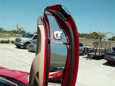 Modern Muscle Car Steel - Chevrolet C6 Corvette - American Car Craft - ACC Door Jamb Switch Cap - 041027