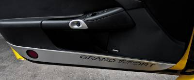 Modern Muscle Car Steel - Chevrolet C6 Corvette - American Car Craft - ACC Door Decal - 041049-YLW