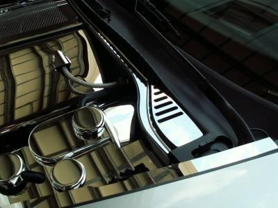 Modern Muscle Car Steel - Chevrolet C6 Corvette - American Car Craft - ACC Cowl Cover - 043015