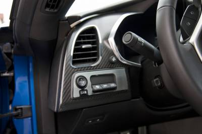Modern Muscle Car Steel - Chevrolet C7 Corvette - American Car Craft - ACC DBoard Air Vent Trim - 051014