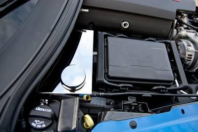 Modern Muscle Car Steel - Chevrolet C7 Corvette - American Car Craft - ACC Engine Dress Up Kit - 053040