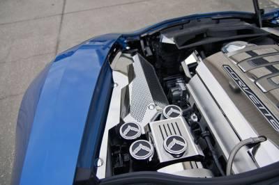 Modern Muscle Car Steel - Chevrolet C7 Corvette - American Car Craft - ACC Engine Dress Up Kit - 053041